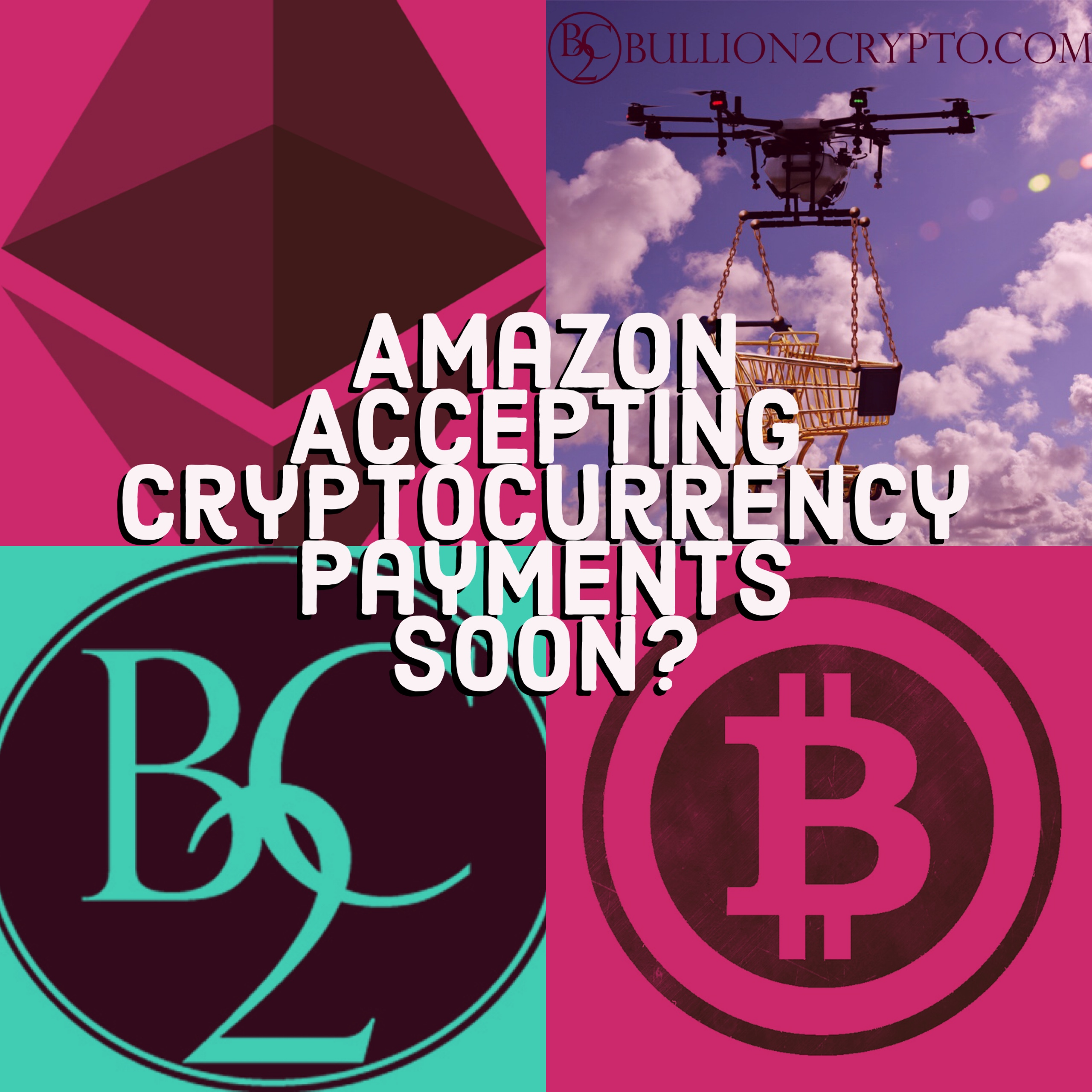 Amazon buys cryptocurrency domains. AmazonCryptocurrency.com Amazonethereum.com Amazonbitcoin.com